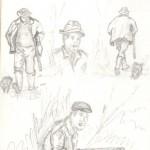 étude, chasse 008