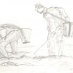 étude, pêcheurs à pieds 002