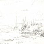 étude, port de Brimeau 001
