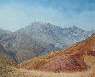 5-Paysage du haut Atlas, 195x130