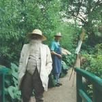 026: Gérard B. sur le motif, chez Claude Monet à Giverny,