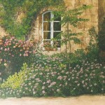 046: La fenêtre à Bougy, huile sur toile, 73x60