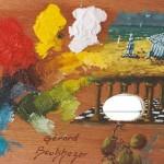 Palette de couleurs de Gérard Boukhezer
